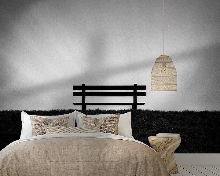 Sfeerimpressie behang: Sit In Peace van Insolitus Fotografie