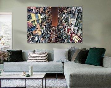 Hongkongse stijl van Manjik Pictures