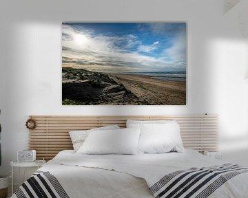 Duinlandschap aan de Noordwijkse kust van Linsey Aandewiel-Marijnen