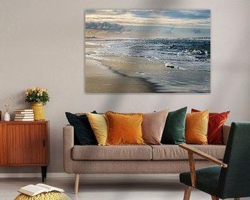 Rustige golven - Kleur van Linsey Aandewiel-Marijnen