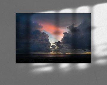 Wolkenfront auf Fanø von Julian König
