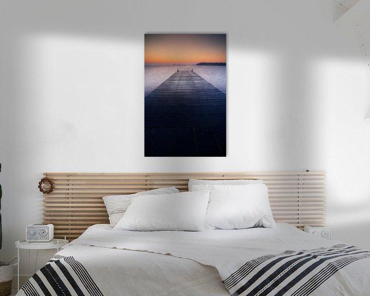 Sfeerimpressie: Hollandse meren voor zonsopkomst van Dirk-Jan Steehouwer