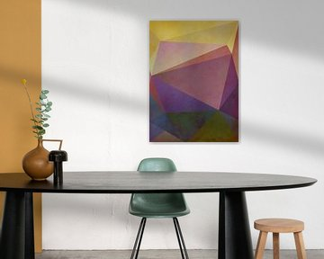 Abstracte samenstelling 1133 van Angel Estevez