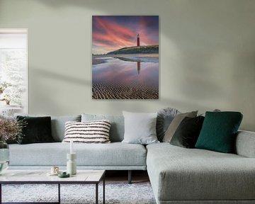 Texel, Leuchtturm von Edwin Kooren