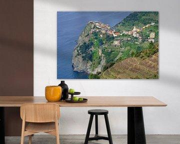 Corniglia in den Cinque Terre von Peter Eckert