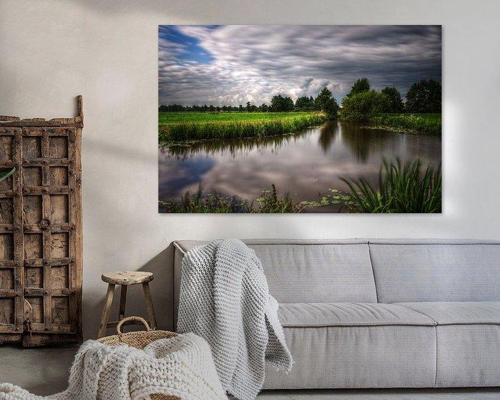 Sfeerimpressie: Frisian skies van Mike Bing