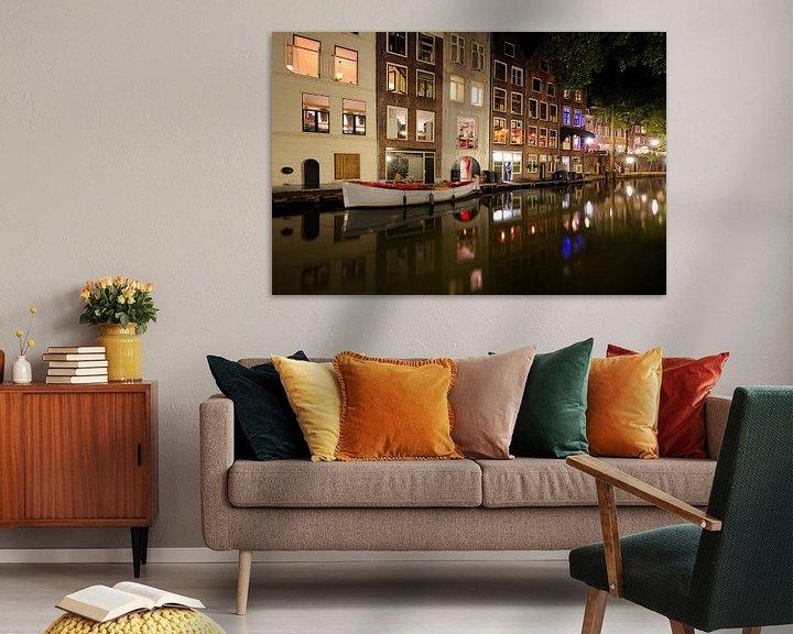 Beispiel: Oudegracht in Utrecht ter hoogte van de Donkere Gaard von Donker Utrecht