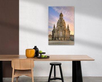 Kerk van Onze-Lieve-Vrouw Dresden van Michael Valjak