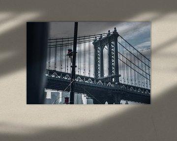 Brooklyn Bridge, New York van Joni Israeli