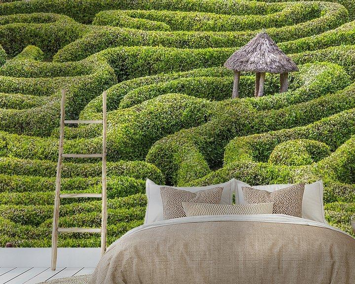 Impression: Labyrinthe du jardin Glendurgan, en Cornouailles sur Christian Müringer