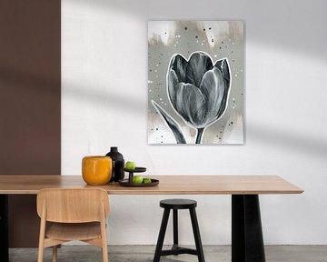 Tulpe, Nacht und Tag von ART Eva Maria
