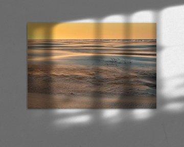 Duintjes en stuivend zand in gouden uurtje van Anja Brouwer Fotografie
