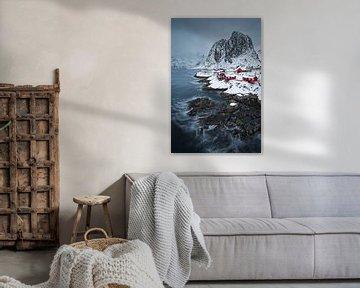 Hamnoy, Lofoten (Noorwegen) van Dirk-Jan Steehouwer