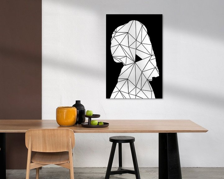 Impression: Meisje Met de Parel - The Modern Art Edition sur Marja van den Hurk