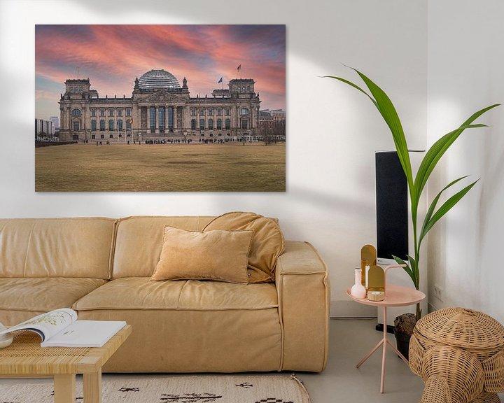 Sfeerimpressie: Reichstag in Berlijn van VanEis Fotografie