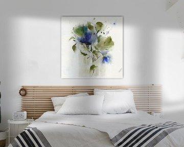 Schönes Blau von annemiek groenhout