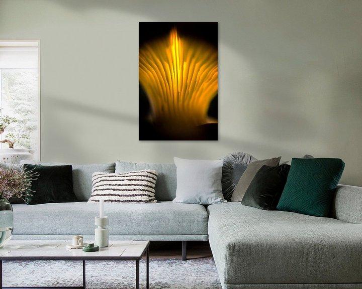 Sfeerimpressie: Abstracte paddenstoel van Jan van der Knaap