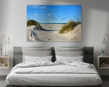 Nordseestrand Daenemark von Joachim G. Pinkawa