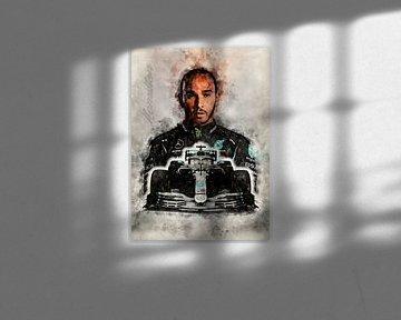 Lewis Hamilton sur Theodor Decker