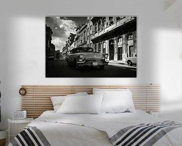 Oldtimer in Kuba in Havanna von Lars Beekman