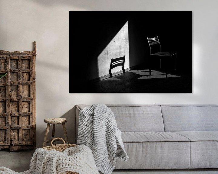 Beispiel: Der verlassene Stuhl von Eus Driessen