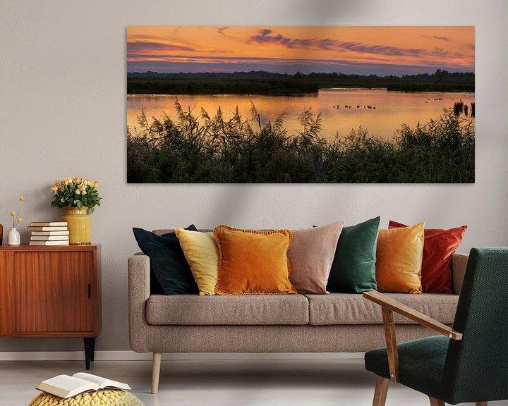 Sfeerimpressie: Avond in Groningen Panorama van Marga Vroom