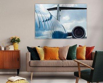 KLM-Flugzeuge von Gabriella Sidiropoulos