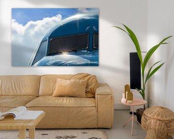 Cockpit KLM von Gabriella Sidiropoulos