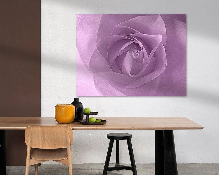 Beispiel: Soft Purple Rose von Nicky`s Prints