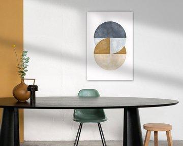 Flow Circle von Munich Art Prints