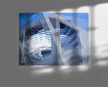 Blau von Willy Backhaus