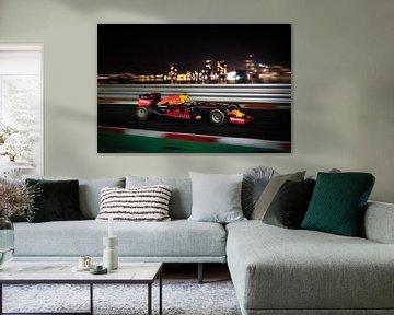 Max Verstappen - Soirée F1 RedBull Racing RB12 sur Kevin Baarda