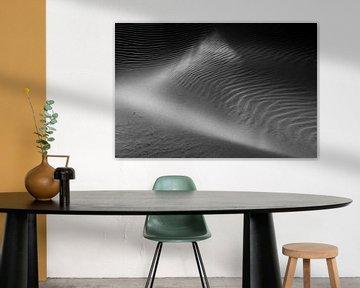 Rippen und Kontrast im Sand - Natürliches Ameland von Anja Brouwer Fotografie