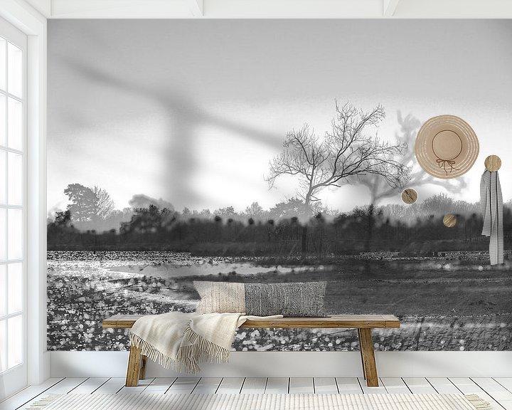 Sfeerimpressie behang: Landschap van Willy Backhaus