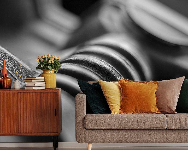 Sfeerimpressie behang: Guess van Willy Backhaus
