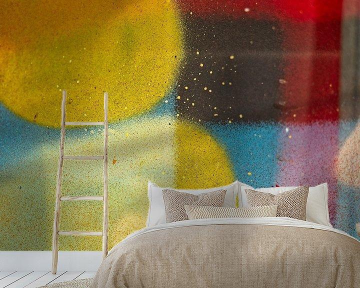 Sfeerimpressie behang: Different colors van Willy Backhaus