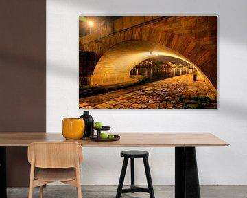 Brückenbogen Steinerne Brücke zu Regensburg von Roith Fotografie