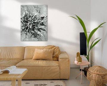 Abstrakte Blume von Ineke de Rijk