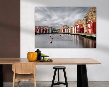 Smögen, ein kleines Fischerdorf in Schweden II von Gerry van Roosmalen