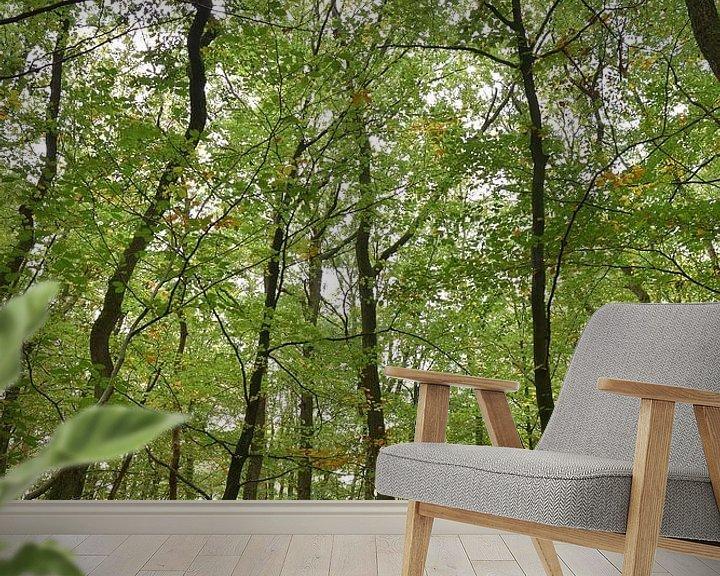 Sfeerimpressie behang: Look up van Christa Stroo fotografie