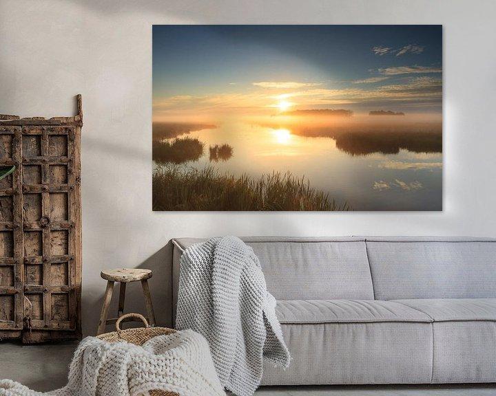 Sfeerimpressie: Golden sunrise! van Sander van der Werf