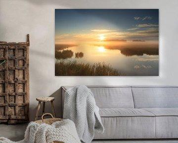 Golden sunrise! van Sander van der Werf