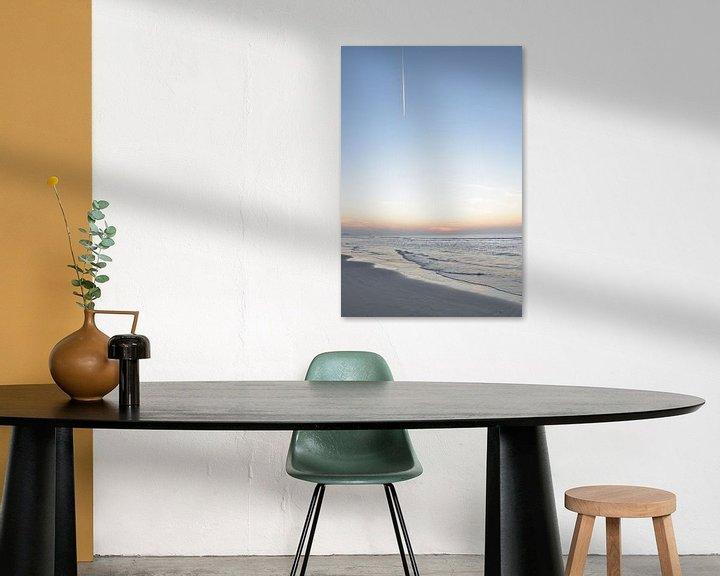 Sfeerimpressie: Zonsondergang aan de Nederlandse kust van Christa Stroo fotografie
