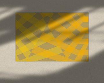 Fragment géométrique 09-3 van Ramon Schellevis