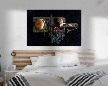 Hamburger als Kunstform von Alexander Tromp