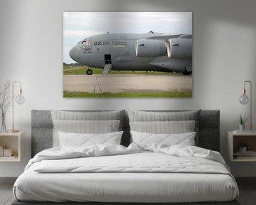Boeing C-17 Globemaster III transportvliegtuig van de Amerikaanse Luchtmacht van Ramon Berk