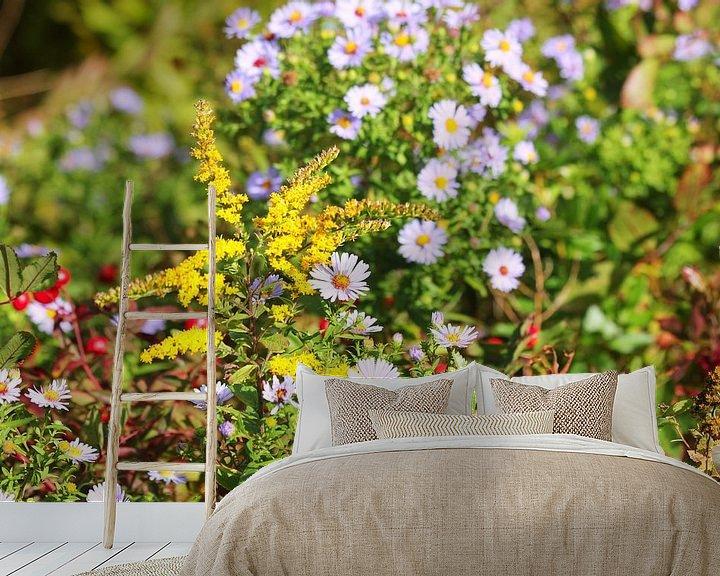 Beispiel fototapete: Blumen an einem heißen Sommertag von Bas Berk