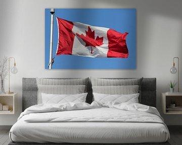 Kanadische Flagge von Bas Berk