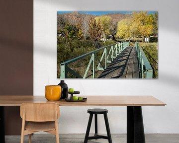 Brücke im Freien von George Haddad