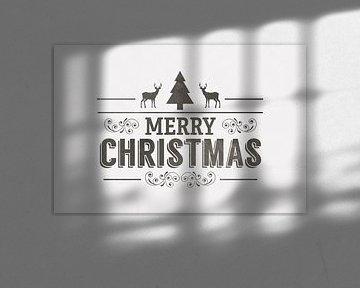 Industrial Christmas - Industriële Kerst Print